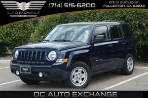 2015 Jeep Patriot Sport Carfax 1-Owner 5 Person Seating Capacity Audio  AmFm Stereo Audio  A
