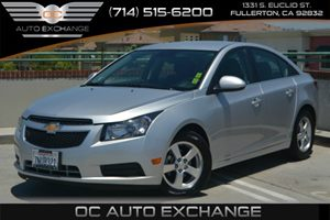 2014 Chevrolet Cruze 1LT Carfax 1-Owner Air Conditioning  AC Audio  Mp3 Player Convenience