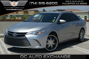 2015 Toyota Camry LE Carfax 1-Owner Air Conditioning  AC Audio  Auxiliary Audio Input Audio