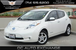 2013 Nissan LEAF SV Carfax 1-Owner - No Accidents  Damage Reported to CARFAX Air Conditioning