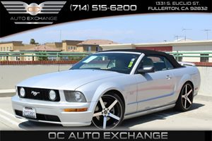 2006 Ford Mustang GT Deluxe Carfax Report - No Accidents  Damage Reported to CARFAX  Satin Sil
