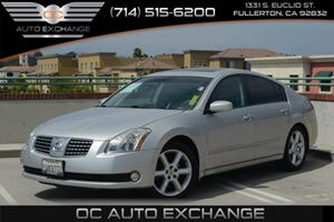 2006 Nissan Maxima 35 SE Carfax 1-Owner - No Accidents  Damage Reported to CARFAX Air Condition