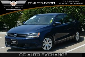 2013 Volkswagen Jetta Sedan SE Carfax 1-Owner - No Accidents  Damage Reported to CARFAX Air Cond