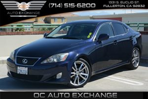2008 Lexus IS 250  Carfax Report - No Accidents  Damage Reported to CARFAX Air Conditioning  Cl