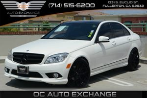 2010 MERCEDES C300 Sport Sedan Carfax Report Air Conditioning  Climate Control Air Conditioning