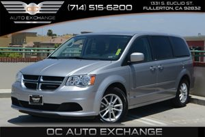 2013 Dodge Grand Caravan SXT Carfax 1-Owner - No Accidents  Damage Reported to CARFAX Air Condit