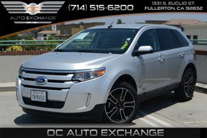 2013 Ford Edge SEL Carfax 1-Owner Air Conditioning  Multi-Zone AC Audio  Auxiliary Audio Inpu