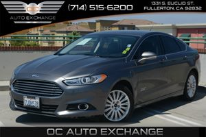 2014 Ford Fusion Energi SE Luxury Carfax 1-Owner Air Conditioning  Climate Control Air Conditio