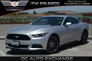 2016 Ford Mustang EcoBoost Carfax 1-Owner Air Conditioning  AC Audio  Auxiliary Audio Input