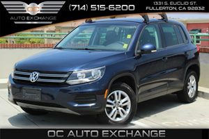 2013 Volkswagen Tiguan S wSunroof Carfax 1-Owner Air Conditioning  AC Audio  Auxiliary Audio