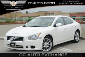 2014 Nissan Maxima 35 S Carfax 1-Owner - No Accidents  Damage Reported to CARFAX Air Conditioni