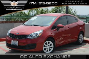 2013 Kia Rio LX Carfax 1-Owner - No Accidents  Damage Reported to CARFAX Air Conditioning  AC