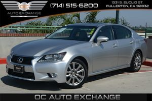 2014 Lexus GS 350  Carfax 1-Owner Air Conditioning  Multi-Zone AC Audio  Auxiliary Audio Inpu