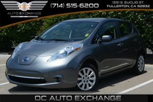 2014 Nissan LEAF S Carfax 1-Owner Air Conditioning  AC Audio  Auxiliary Audio Input Audio