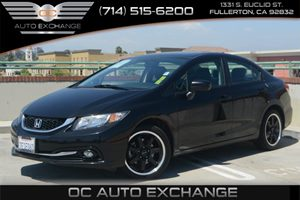 2014 Honda Civic Sedan EX-L Carfax 1-Owner - No Accidents  Damage Reported to CARFAX Air Conditi