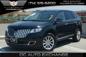 2013 Lincoln MKX  Carfax 1-Owner - No Accidents  Damage Reported to CARFAX Air Conditioning  Cl