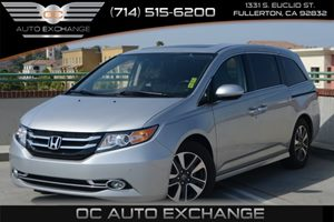 2015 Honda Odyssey Touring Carfax 1-Owner Air Conditioning  Multi-Zone AC Air Conditioning  R
