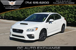 2016 Subaru WRX  Carfax 1-Owner - No Accidents  Damage Reported to CARFAX  Crystal White Pearl