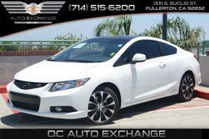 2013 Honda Civic Cpe Si Carfax 1-Owner - No Accidents  Damage Reported to CARFAX Air Conditionin