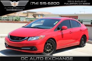 2013 Honda Civic Sdn Si Carfax 1-Owner - No Accidents  Damage Reported to CARFAX Convenience  B