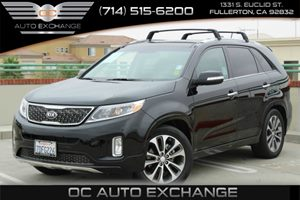 2014 Kia Sorento SX Carfax 1-Owner Air Conditioning  Multi-Zone AC Air Conditioning  Rear AC