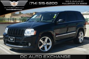 2006 Jeep Grand Cherokee SRT-8 Carfax Report Air Conditioning  AC Audio  Mp3 Player Convenie