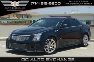 2013 Cadillac CTS-V Sedan  Carfax 1-Owner Air Conditioning  Multi-Zone AC Audio  Auxiliary Au