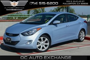 2013 Hyundai Elantra Limited Carfax 1-Owner - No Accidents  Damage Reported to CARFAX Air Condit