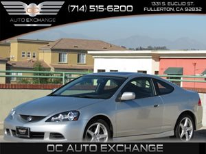 2006 Acura RSX Type-S Leather Carfax Report - No AccidentsDamage Reported Air Conditioning  AC