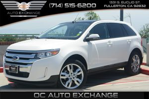2013 Ford Edge SEL Carfax 1-Owner Air Conditioning  Multi-Zone AC Audio  Mp3 Player Audio