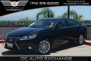 2014 Lexus ES 350  Carfax 1-Owner Air Conditioning  Multi-Zone AC Audio  Auxiliary Audio Inpu
