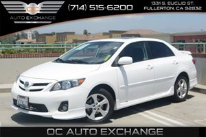 2011 Toyota Corolla LE Carfax 1-Owner - No Accidents  Damage Reported to CARFAX Air Conditioning