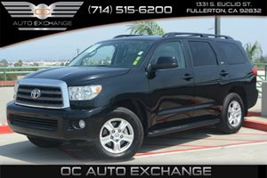 2015 Toyota Sequoia SR5 Carfax 1-Owner - No Accidents  Damage Reported to CARFAX Air Conditionin