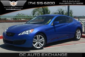 2011 Hyundai Genesis Coupe  Carfax Report Air Conditioning  AC Audio  Auxiliary Audio Input