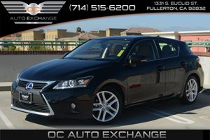 2014 Lexus CT 200h Hybrid Carfax 1-Owner - No Accidents  Damage Reported to CARFAX Air Condition