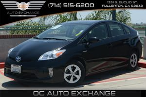 2014 Toyota Prius Three Carfax 1-Owner - No Accidents  Damage Reported to CARFAX Air Conditionin