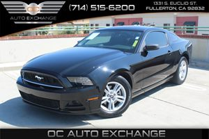 2014 Ford Mustang V6 Carfax 1-Owner - No Accidents  Damage Reported to CARFAX  Black