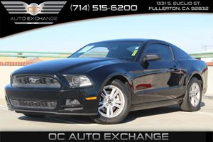 2014 Ford Mustang V6 Carfax 1-Owner - No Accidents  Damage Reported to CARFAX  Black 2014 FOR