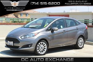 2014 Ford Fiesta SE Carfax 1-Owner  Storm Gray Metallic  We are not responsible for typographi