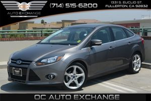 2013 Ford Focus Titanium Carfax 1-Owner Air Conditioning  AC Audio  Auxiliary Audio Input Au