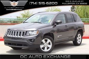 2015 Jeep Compass Sport Carfax 1-Owner  Gray  We are not responsible for typographical errors