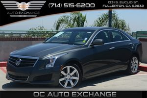 2014 Cadillac ATS Standard RWD Carfax Report - No AccidentsDamage Reported Air Conditioning  Mu
