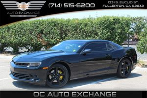 2014 Chevrolet Camaro SS Carfax 1-Owner  Black  We are not responsible for typographical error