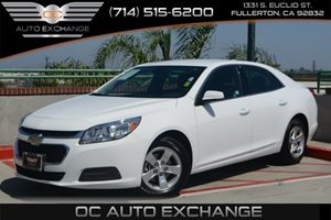 2016 Chevrolet Malibu Limited LT Carfax 1-Owner Air Conditioning  AC Audio  Auxiliary Audio I