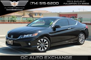 2013 Honda Accord Cpe EX-L Carfax 1-Owner  Crystal Black Pearl  We are not responsible for typ