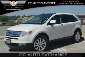 2010 Ford Edge SEL Carfax Report - No Accidents  Damage Reported to CARFAX Air Conditioning  A