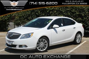 2013 Buick Verano  Carfax Report  Summit White  We are not responsible for typographical error
