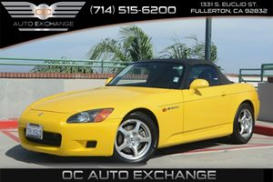 2001 Honda S2000  Carfax Report - No AccidentsDamage Reported Air Conditioning  AC Audio  Am