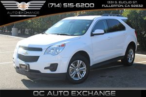 2015 Chevrolet Equinox LT Carfax 1-Owner - No AccidentsDamage Reported  Summit White 2015 CHE