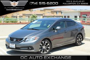 2013 Honda Civic Sdn Si Carfax Report - No AccidentsDamage Reported  Gray  Gobble up extra sa
